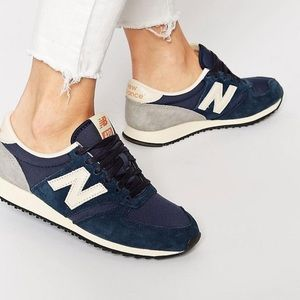 New Balance 420 Retro Vintage Sneakers